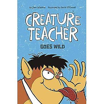 Enseignant de la créature est en délire (professeur de créature)