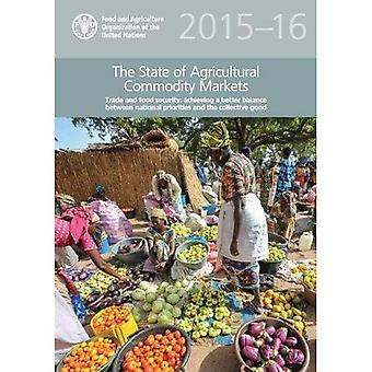 The state of agricultural commodity markets 2015-16 (SOCO)