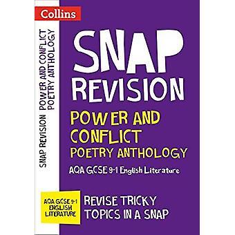 Zasilanie i konflikt antologii poezji - AQA GCSE 9-1 angielski Literatur