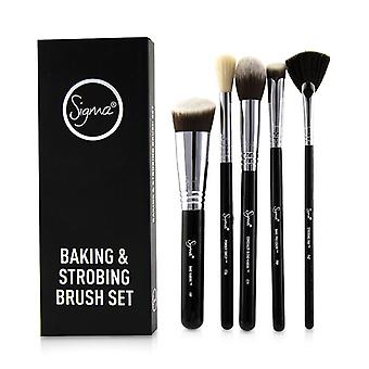 Sigma Beauty Baking & Strobing Brush Set - 5pcs