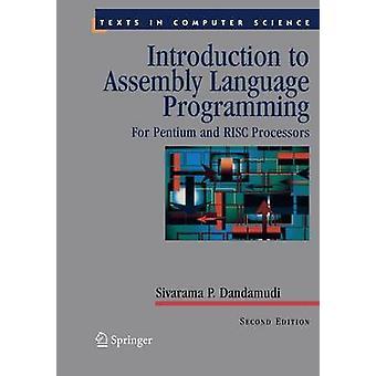 Introduksjon til montering språk programmering For Pentium og RISC-prosessorene av Dandamudi & Sivarama P.
