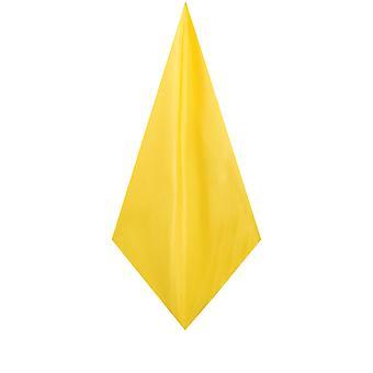 Dobell Mens gul ficka torget näsduk Dupion Satin-känsla tyg