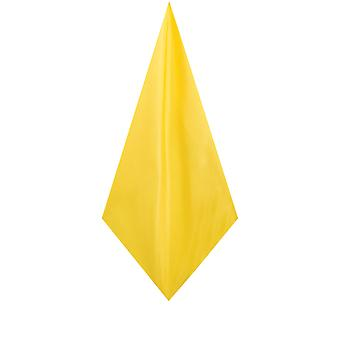 Mouchoir de poche jaune Dobell Mens mouchoir Dupion Satin-Feel tissu