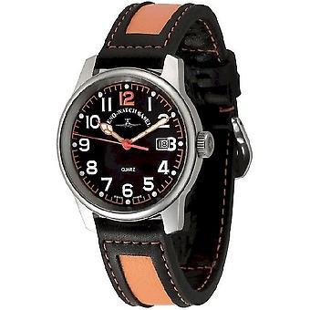 Zeno-watch mens watch classic pilot date 3315Q-matt-a15