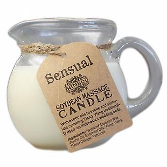 Bamboo Soybean Sensual Blend Massage Candle