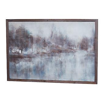 Hill Interiors Woodland Reflection Painting On Cement