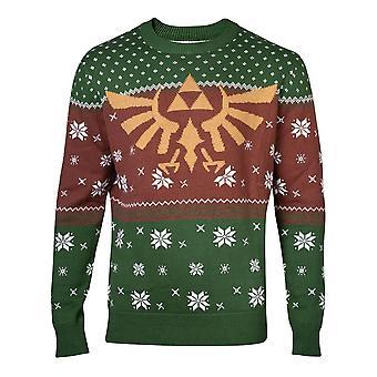 Difuzed Zelda Golden Hyrule Knitted Christmas Sweater XX-Large (KW521873ZEL -2XL)