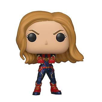 Funko POP Bobble Avengers Endgame Captain Marvel Figure Toy