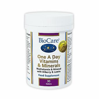 BioCare One A Day Vitamins and Minerals 30 (50030)