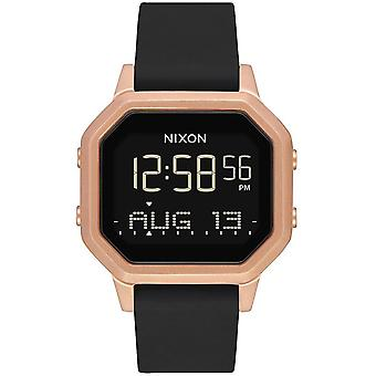 Nixon the Sirene Watch for Digital Woman Automatic with Silicone Bracelet A12111098