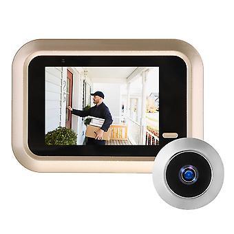 2.4 pollici lcd digitale video campanello visualizzatore peephole sicurezza porta fotocamera di monitoraggio degli occhi