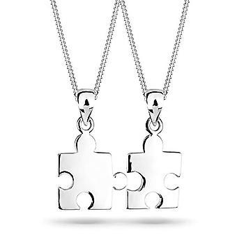Elli Silber Anhänger Halskette 925 - 45 cm 0105141611_45