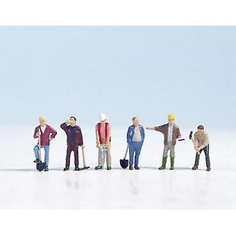 NOCH 15110 HO Construction workers figures