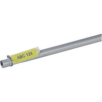 Cable identifier Helafix 35 x 12 mm ATT.LOV.COLOR_LABELING-FIELD: Yellow HellermannTyton 526-01714 HFX12-35P-SP-YEWH No.
