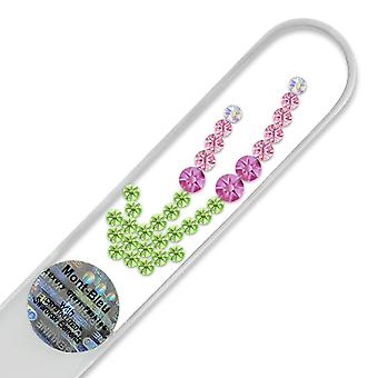 Mont Bleu Bushes Crystal Nail File LE-12