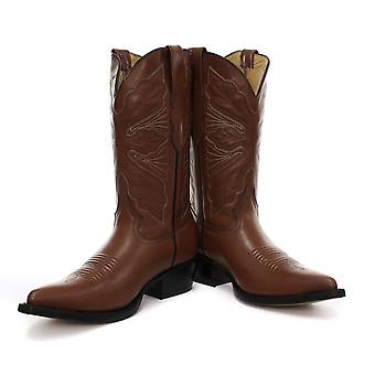 New Grinders Dallas Tan Womens Cowboy Boots
