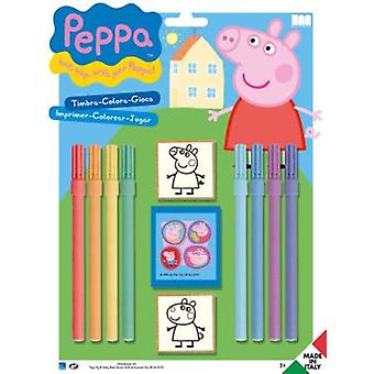 Multiprint Peppa Pig Stamps Blister 2