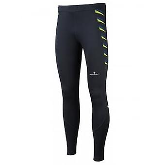 Stretch Tight Black/Fluo Yellow Mens
