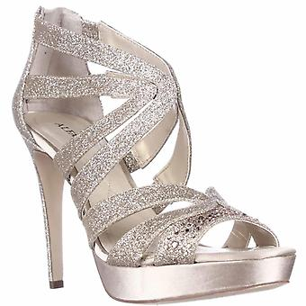 A35 Cymball Sparkle Dress Sandals, Gold, 4 UK
