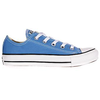 CONVERSE Chuck Taylor All Star Seasonal Ox Womens Ladies Trainer Light Sapphire