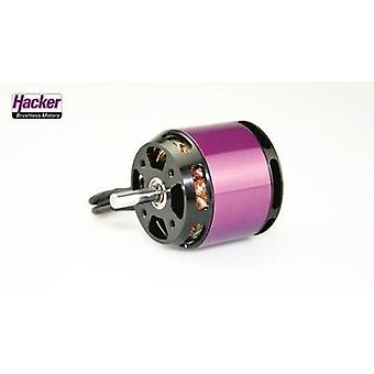 Model aircraft brushless motor Hacker A40-12S V4 8-Pole kV (RPM per volt): 1350 Turns: 12