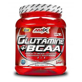 Amix Glutamine + BCAA 500 gr Fruit of the Forest (Sport , Recovery)