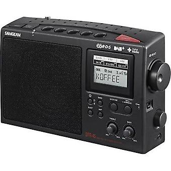 DAB+ Portable radio Sangean DPR-45 DAB+, AM, FM Black