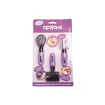 Optionen Kleintier Mini Grooming Set