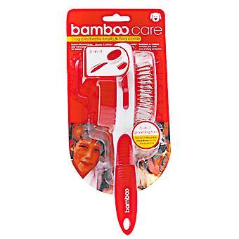 Bambus hund dobbelt Side børste