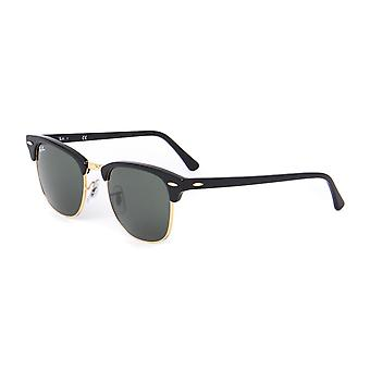 Ray-Ban Black G-15 Lens Classic Clubmaster Sunglasses