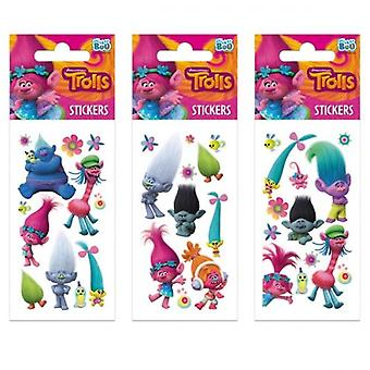 Offically License | TROLLS STICKERS | 1 SHEET ONLY