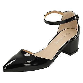Sabana de las señoras medio talón zapatos talle F9961