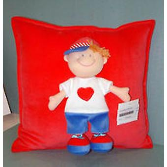Import Pillow With Doll Cap 38 Cm. (Home , Babies and Children , Decoration , Cushions)