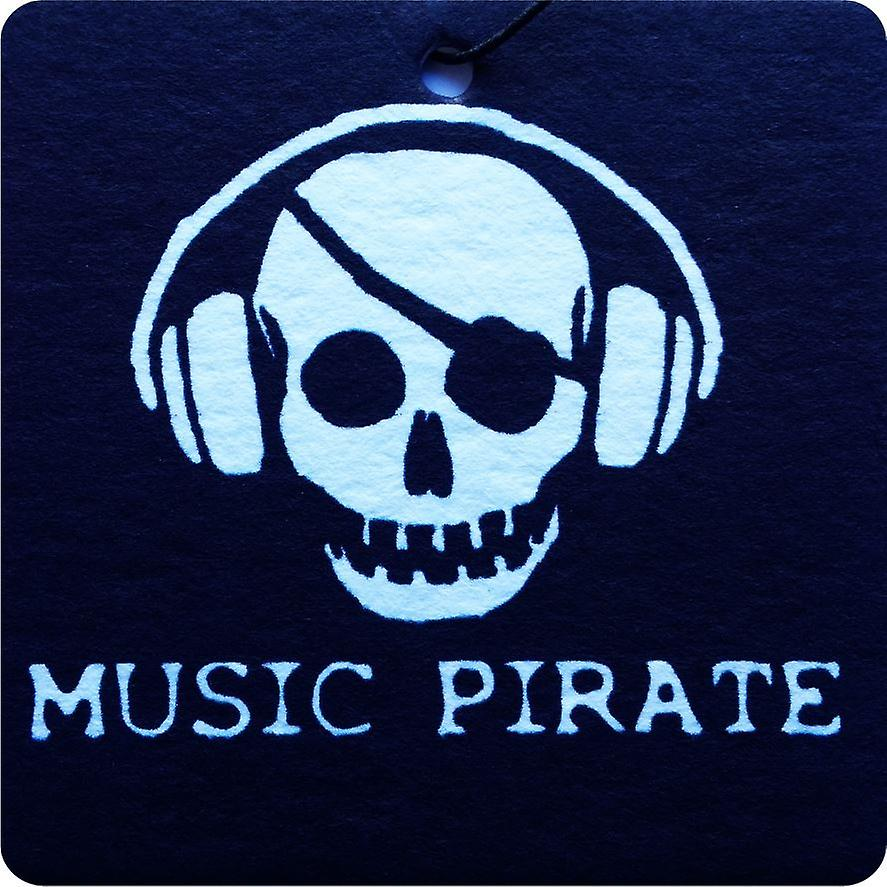 Music Pirate Car Air Freshener