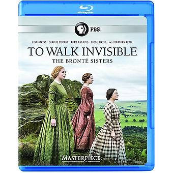 Masterpiece: To Walk Invisible - Bronte Sisters [Blu-ray] USA import
