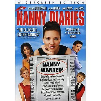 Nanny Diaries [DVD] USA importerer