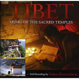 Tibet: Music of the Sacred Temples - Tibet: Music of the Sacred Temples [CD] USA import