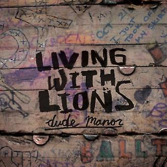 Living with Lions - Dude Manor E.P. [CD] USA import