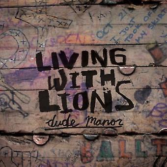 Lever med løver - Dude Manor E.P. [CD] USA import