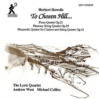 H. Howells - Herbert Howells: Til valgte Hill... [CD] USA import