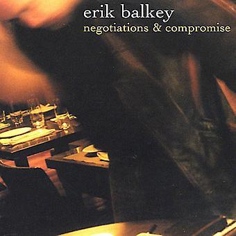 Erik Balkey - onderhandelingen & compromis [CD] USA import