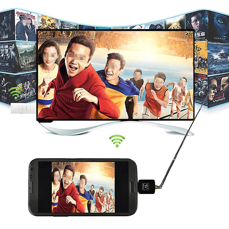 ONX3 Compact Mini Mobile Phone DVB-T Micro USB Digital TV Tuner Video Receiver For BLU Sport 4.5