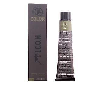 I.c.o.n. ECOTECH COLOR natural color #4.24 coffee