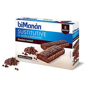 Bimanan Chocolate Fondant Bimanan Bars (8 Pack) (Dieet en voeding , Crackers)
