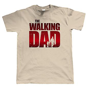 Kävely isä miesten hauska T-paita