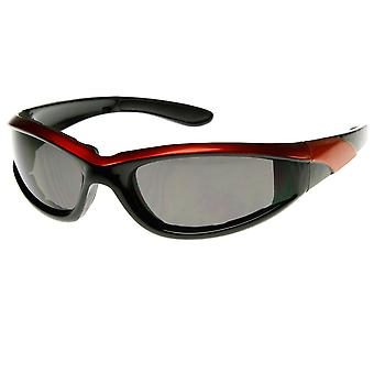 Shatterproof Two-Tone Color High Quality Sports Sunglasses