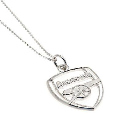 Arsenal Sterling Silver Pendant & Chain CR
