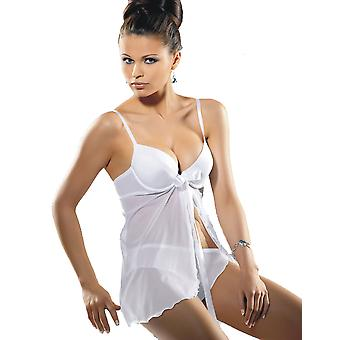 Gracya Natalie White Babydoll and Short Set 30