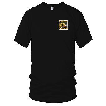 Ruchu lotniczego kontroli 344th - lotnictwa wsparcia - Pilot wojny wietnamskiej haftowane Patch - koszulki męskie