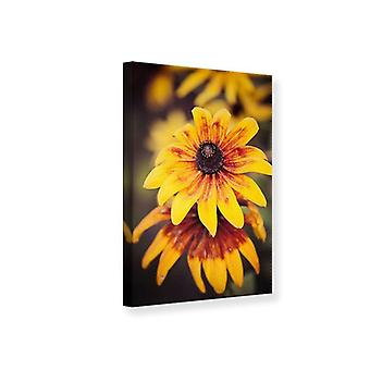 Canvas tulostaa Happy Flowers
